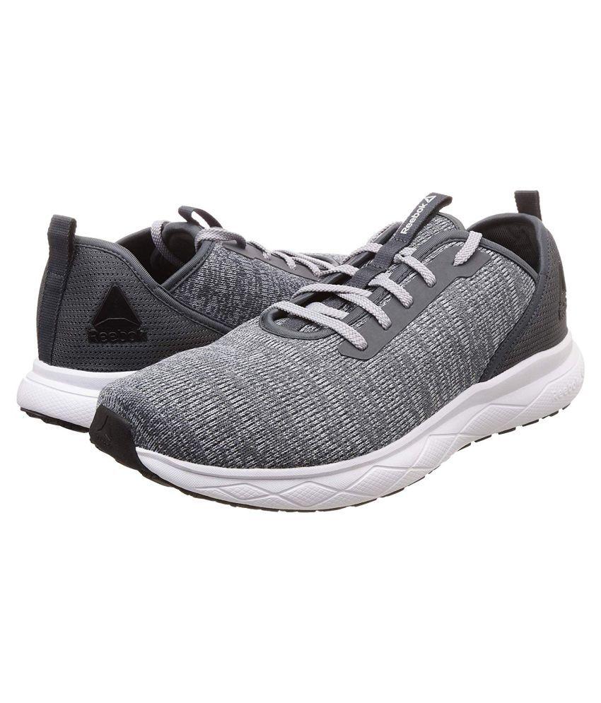 Reebok LUKE RUNNER Gray Running Shoes