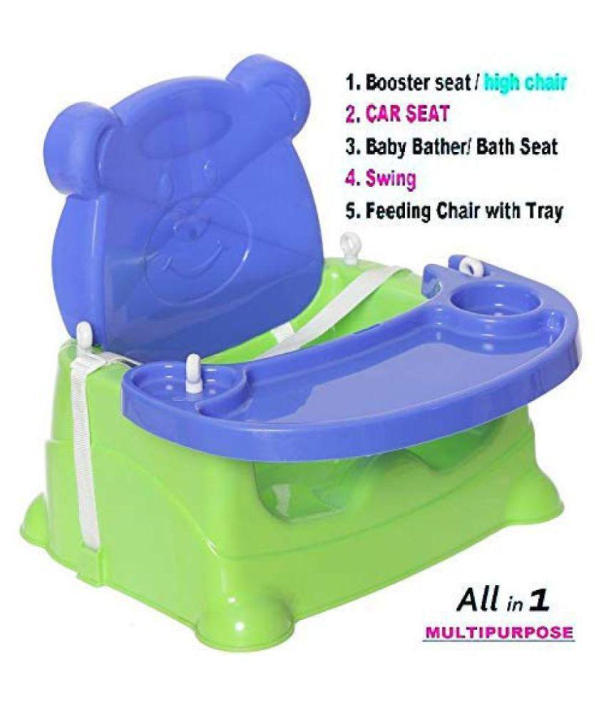 Honey Bee 5 In 1 Baby Booster Seat Cum Swing Pink Buy Honey Bee