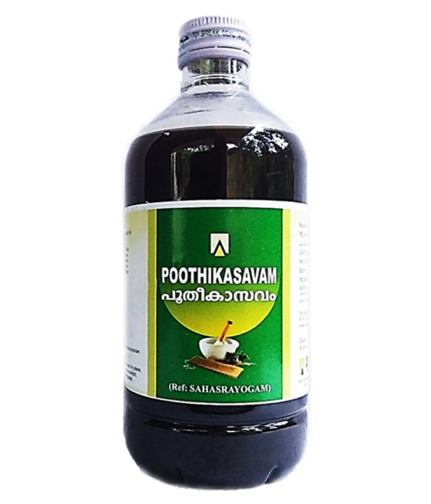 Aswini Pharmaceuticals Poothikasavam Liquid 450 ml Pack Of 1