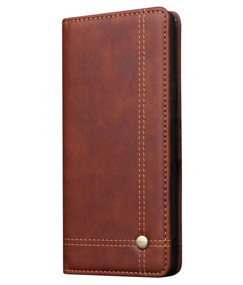 Samsung Galaxy Note 9 Flip Cover by CUBIX - Brown