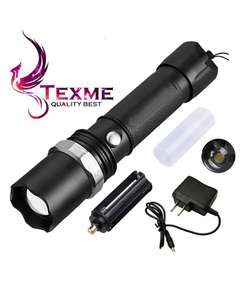 Texme 10W Flashlight Torch Travel Flashlight - Pack of 1