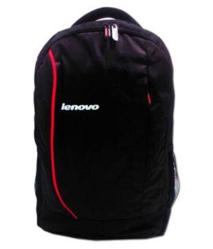 Lenovo Black Laptop Bags Laptop Bags school bag Office Bag For Men   Women Backpack  15.6 Inch Carry Bag Shoulder Bag