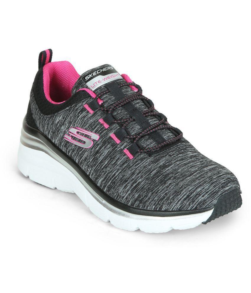 Skechers Black Casual Shoes Price in India Buy Skechers