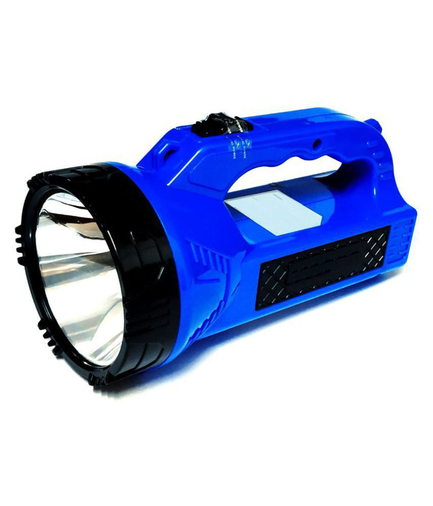 Emm Emm 10W Flashlight Torch Solar+COB Led Light - Pack of 1