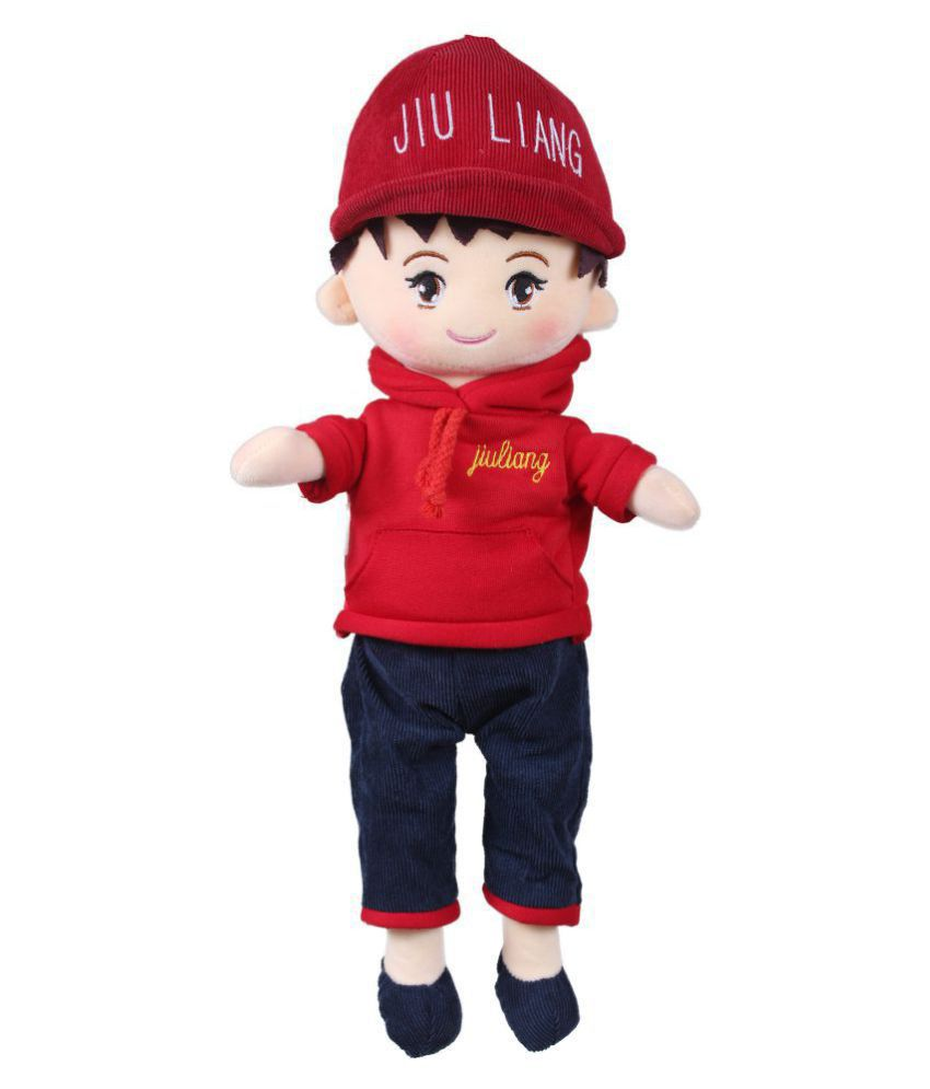 Tickles Red Cute Handsome Boy Doll Soft Toy for Kids Birthday Gift 40 cm