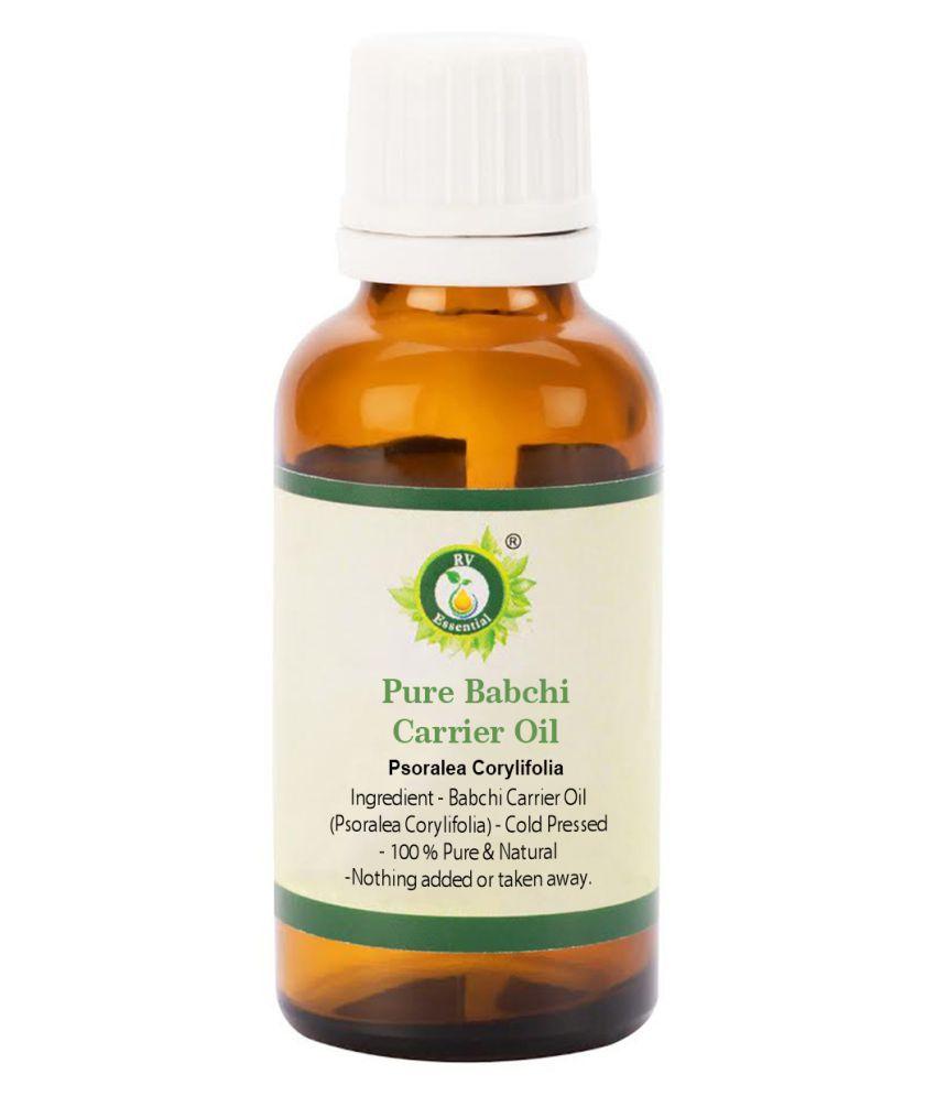 R V Essential Pure Babchi Carrier Oil Carrier Oil 10 mL