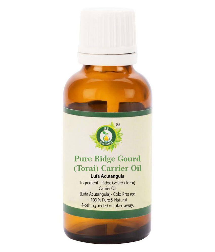 R V Essential Pure Ridge Gourd (Torai) Oil Carrier Oil 15 mL
