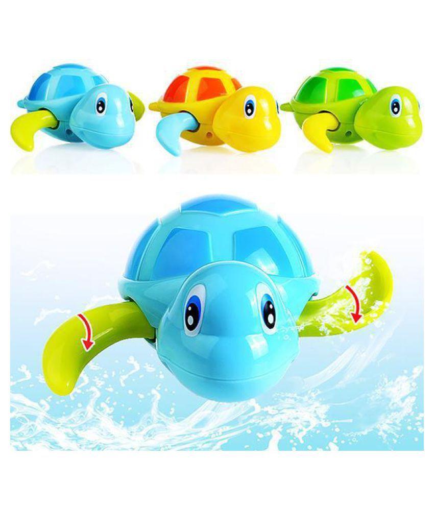 Baby Cute Cartoon Animal Bath Toy Wind-Up Clockwork Swimming Pool Toy