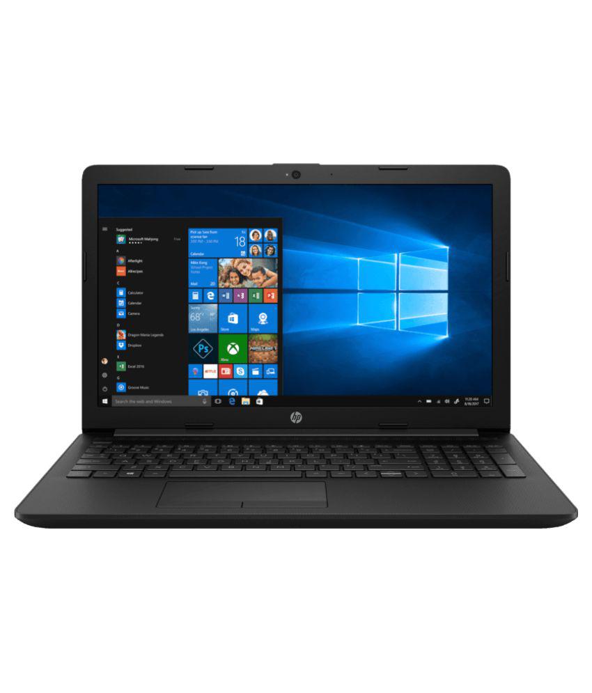 HP 15- Da0352tu ( 5XD50PA )15.6-inch Laptop (7th Gen Intel Core i3-7020U/4GB/1TB/Windows 10 Home/Intel HD Graphics 620 Graphics), Black