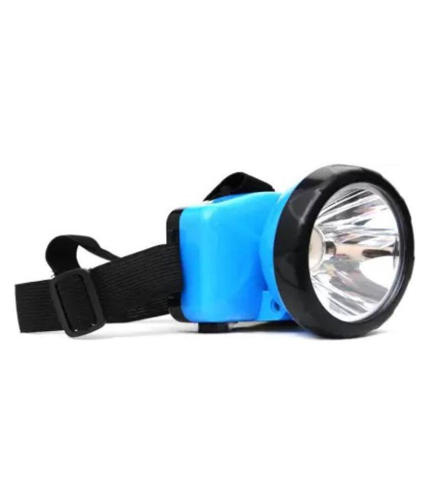 DP 1W Flashlight Torch DP-744 HEADLIGHT - Pack of 1
