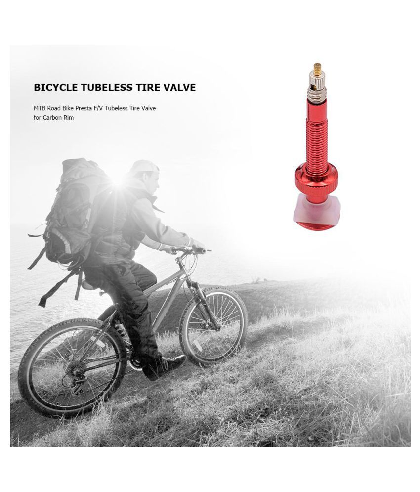 Tubeless Presta  Tyre Accessories Bicycle Extender Valves MTB Road Bike