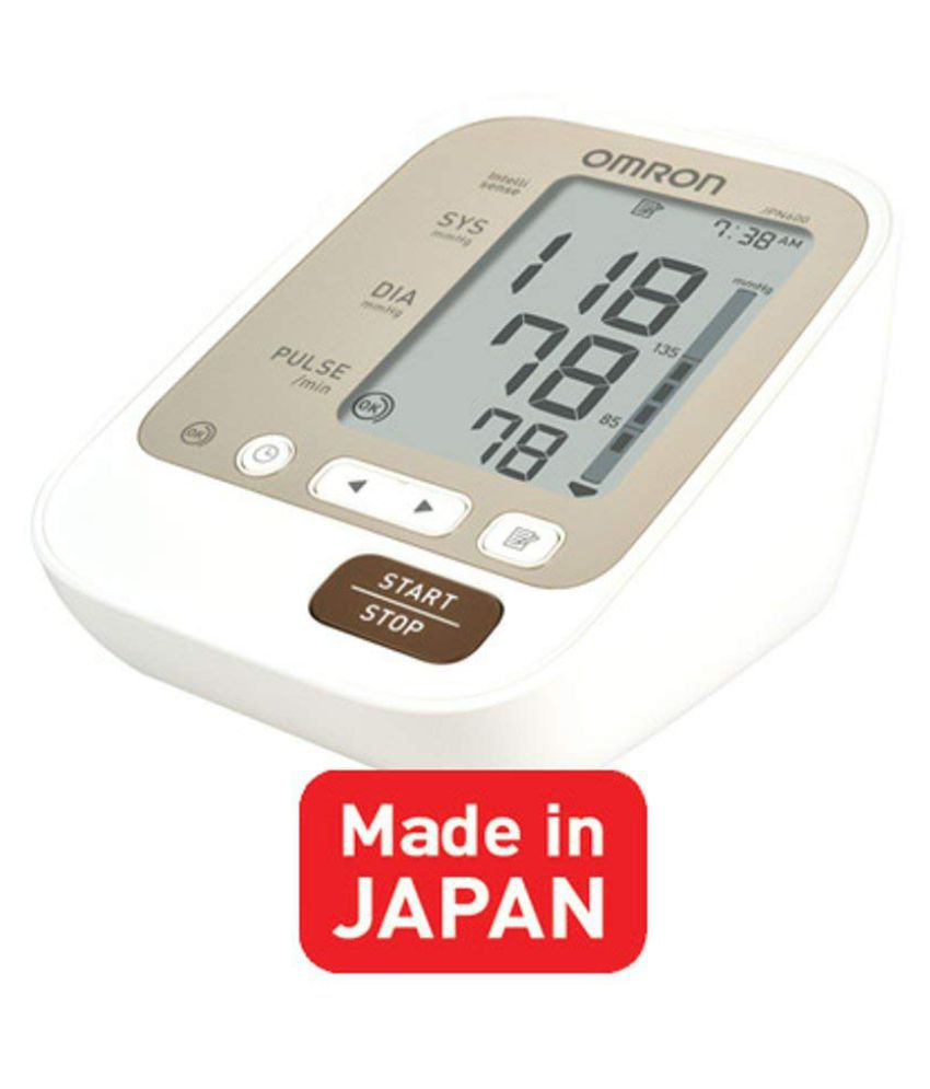 OmronJPN 600Automatic Blood Pressure Monitor(White)