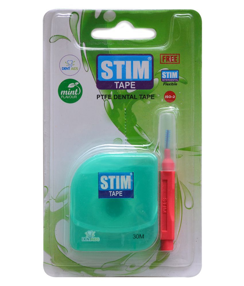 Stim Tape (Pack Of 3) Dental Tape 1 Pcs Pack of 3