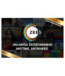 Zee5 Subscription Gift card India: Buy Zee5 Subscription