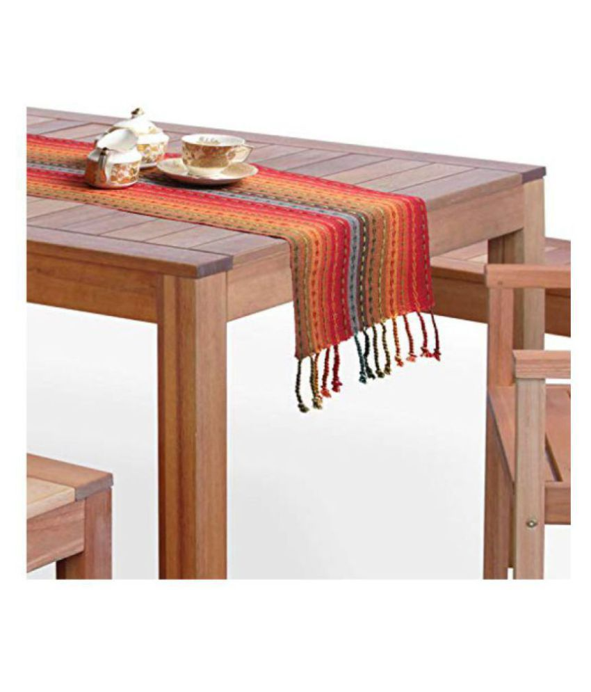Cotton Quest 6 Seater Cotton Single Table Runner
