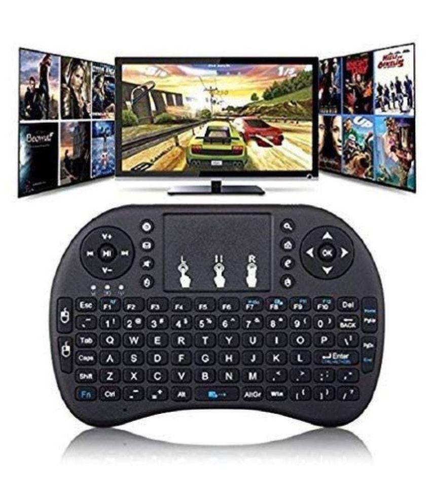 HISAFE MINI Wireless Black Wireless Keyboard Mouse Combo