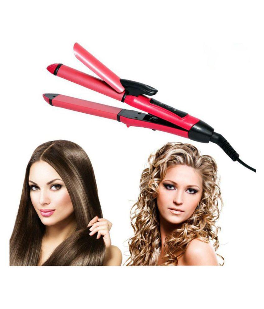 ZURU BUNCH 2 in 1 Hair Beauty Hair Straightener ( Pink )