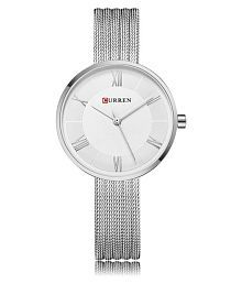 Curren Stainless Steel Round Womens Watch