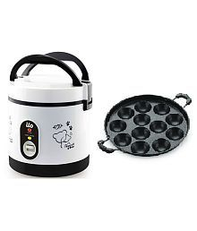 BMS Lifestyle ricecooker+appam 0.5 Ltr Rice Cookers
