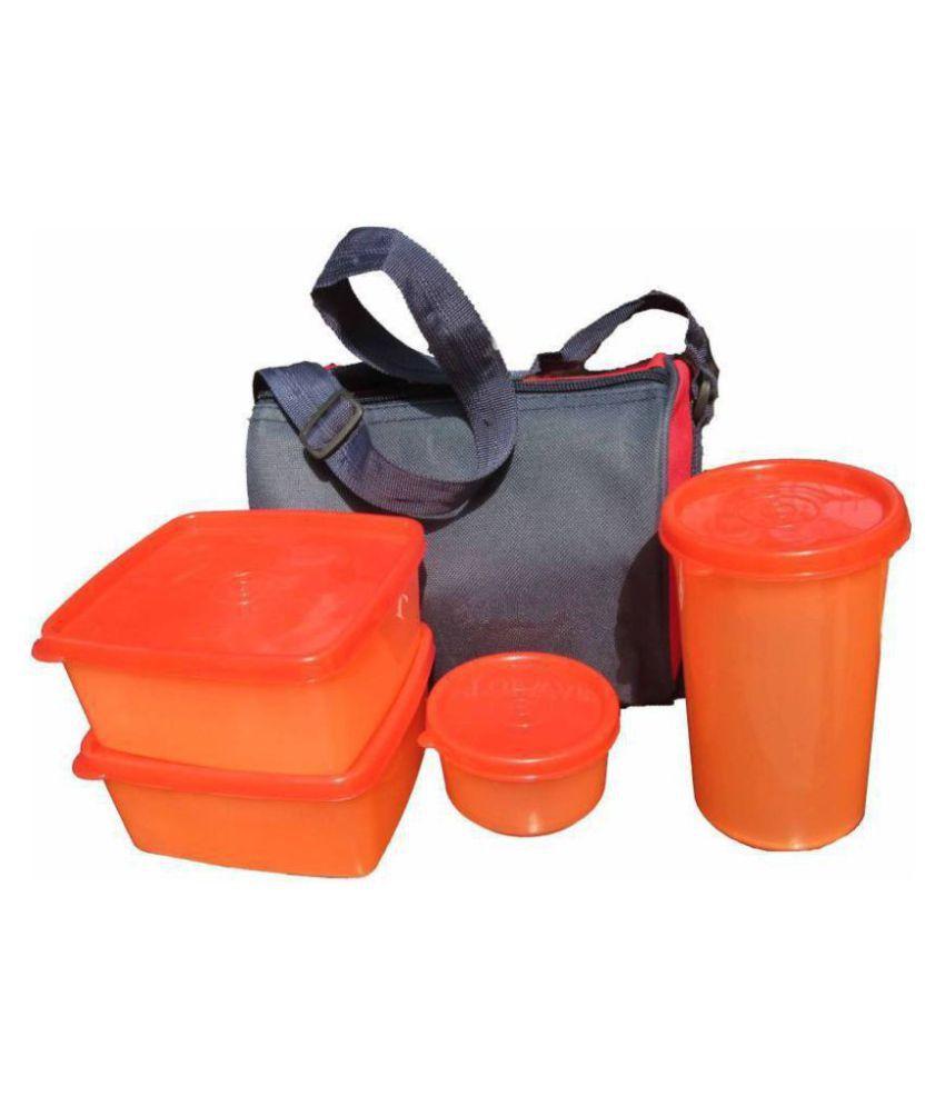 Kelvi Orange Lunch Box