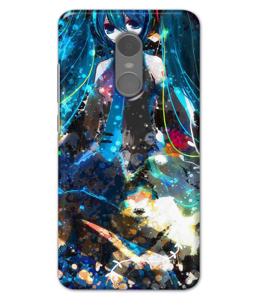 Xiaomi Redmi Note 4 Printed Cover By UnboxJoy Gifts
