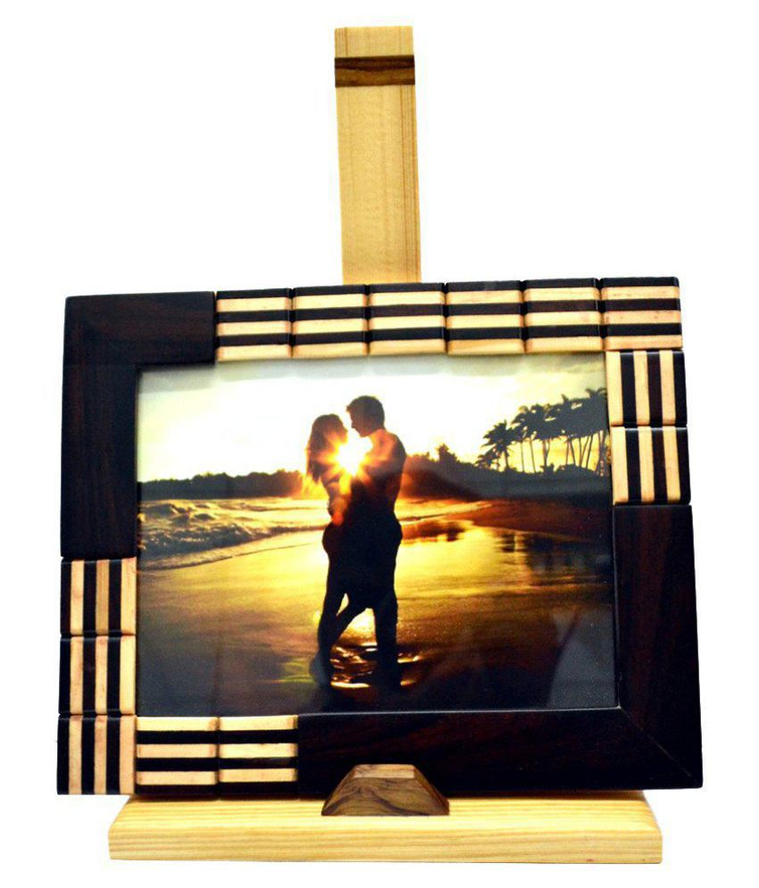 Just Frames Wood TableTop Multicolour Single Photo Frame - Pack of 1