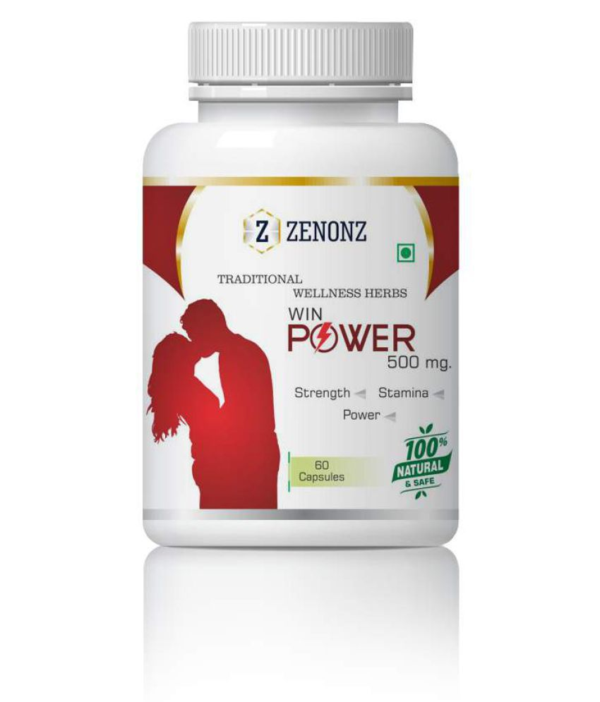 zenonz Extra Super Strong Energy For Man Capsule 500 mg Pack Of 1
