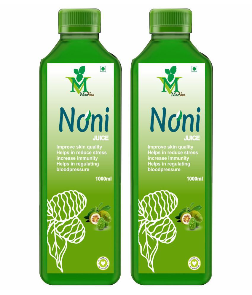 Mint Veda Noni Juice Health Drink 1 l Pack of 2