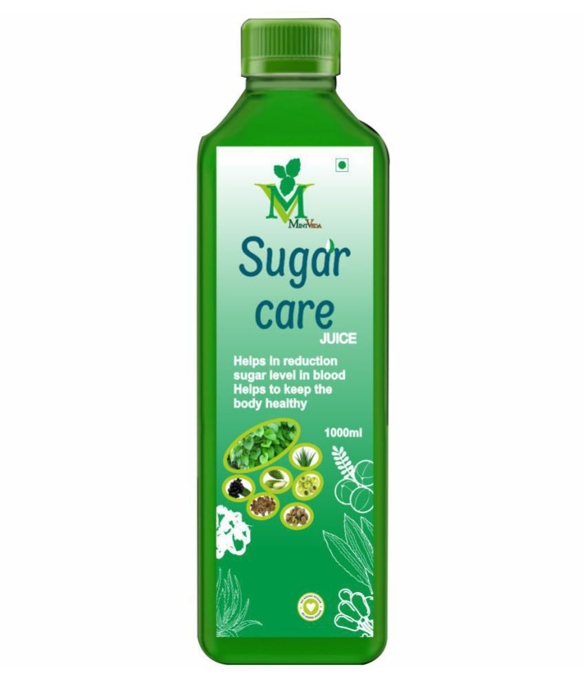 Mint Veda Sugar Care Juice Health Drink 1 l