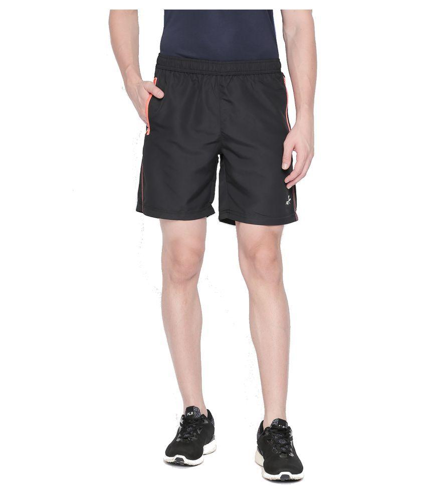 Fitz Black Shorts Single