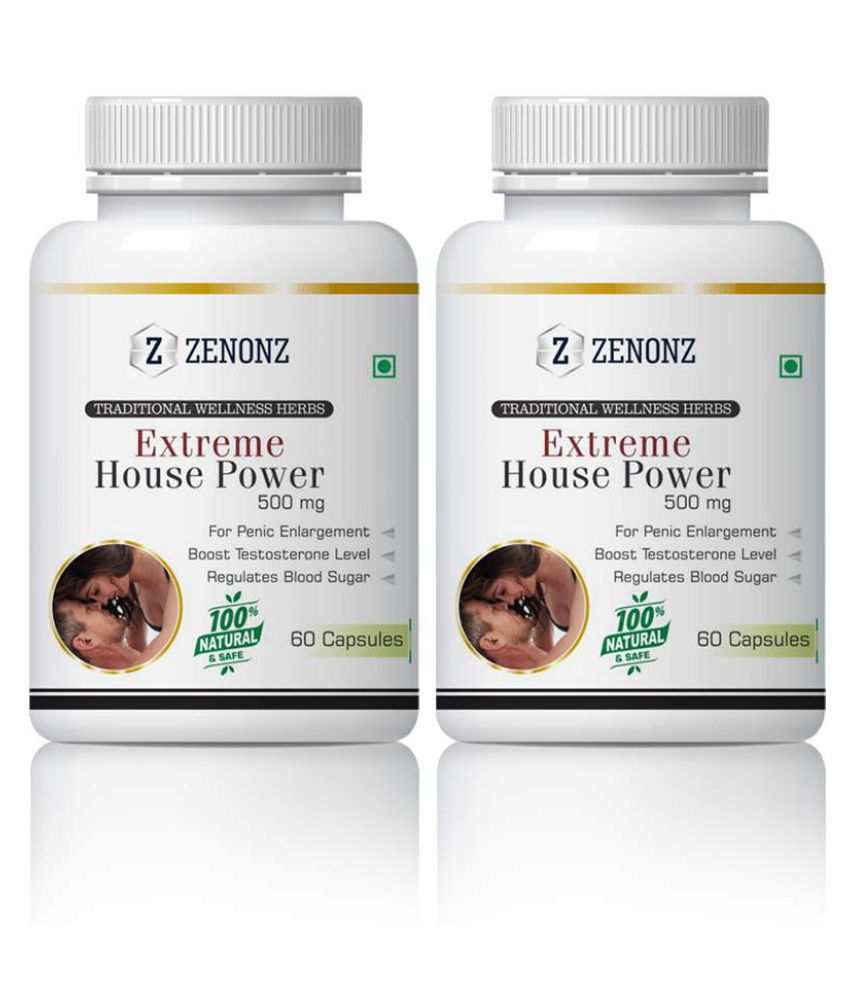zenonz Extreme HousePower Sexual Health For Men Capsule 500 mg Pack Of 2