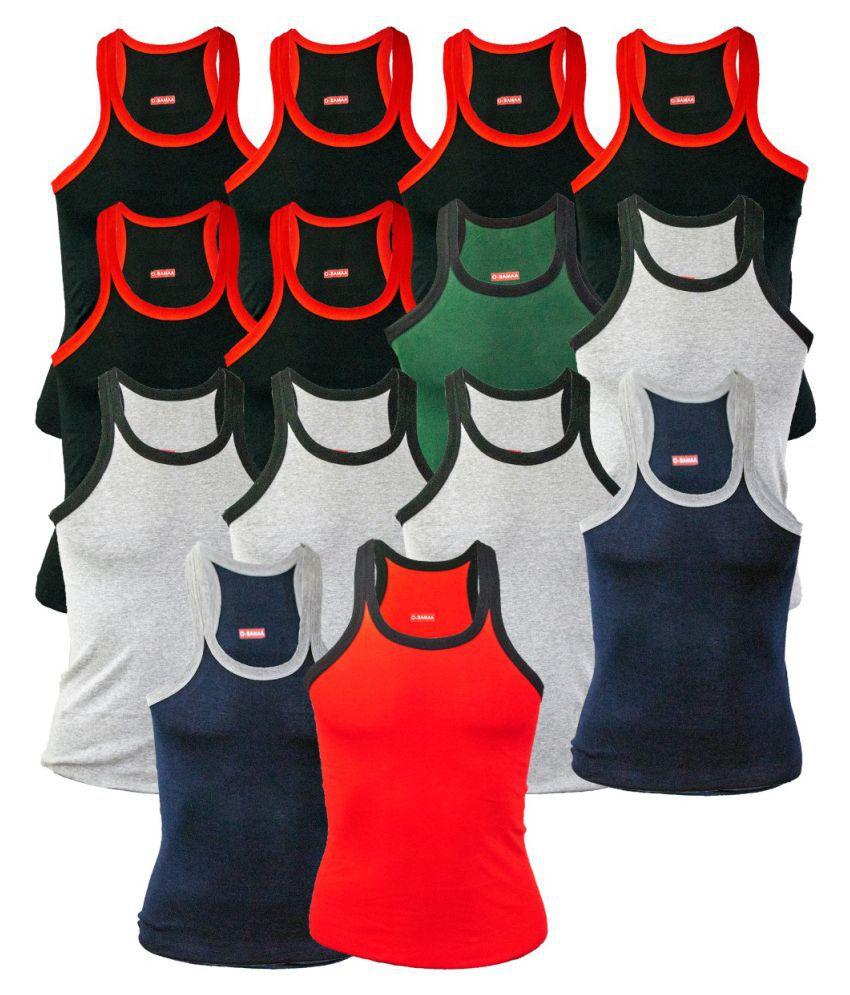 Rupa Multi Sleeveless Vests Pack of 14