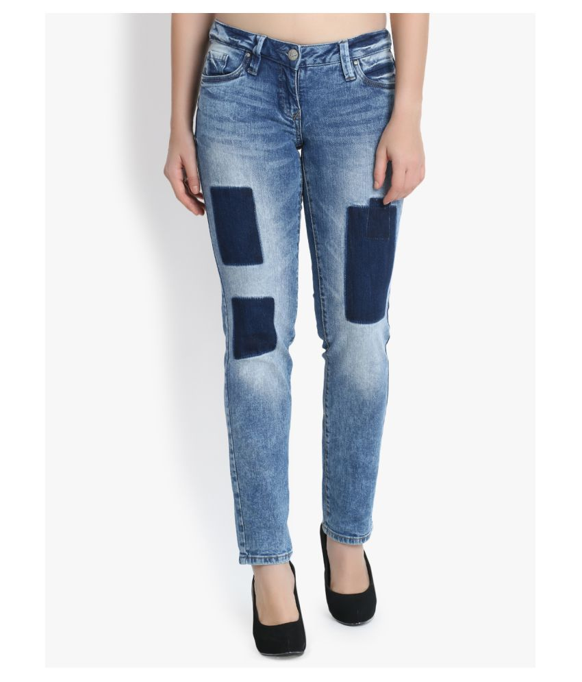 kotty Denim Lycra Jeans - Blue