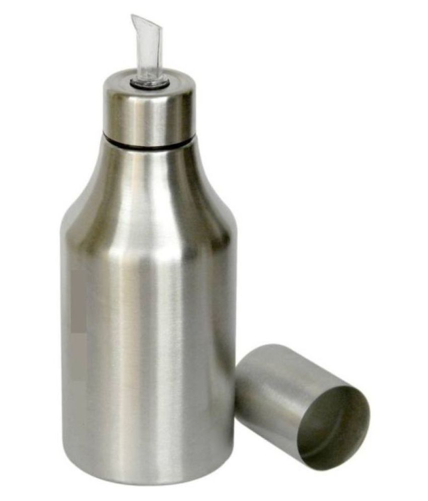 1000 ML Stainless Steel Gini Oil Bottle Cooking Oil Dispenser Container