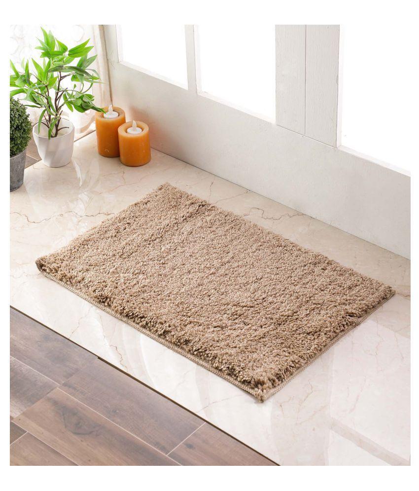 Flooring India Brown Single Anti-skid Floor Mat
