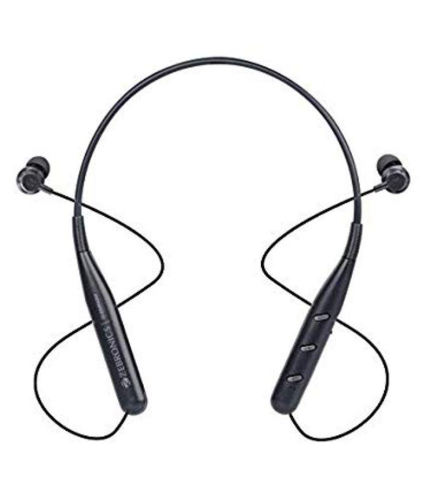 Zebronics Zeb Symphony Neckband Wireless With Mic Headphones/Earphones