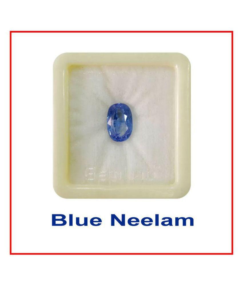 Maya Gems/6.25 Ratti Natural Blue Sapphire Nilam Gemstone