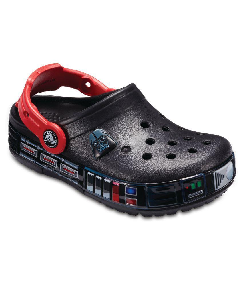 Crocs Crocband FunLab Darth Vader Lights Black Boys Clog