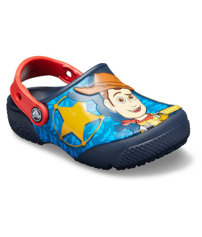 Crocs FunLab Buzz Woody Blue Kids Clog