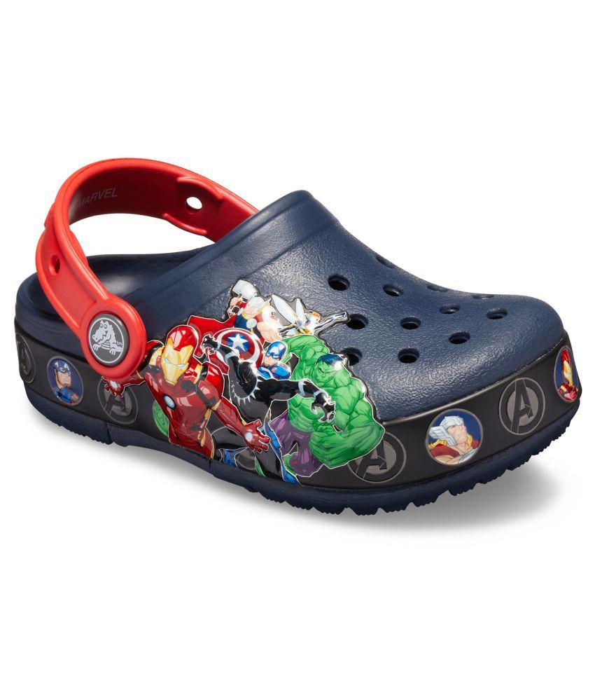 Crocs FunLab Marvel Band Light Blue Boys Clog