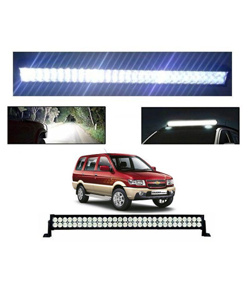 Trigcars Chevrolet Tavera Bar Light Fog Light 22Inch 120Watt