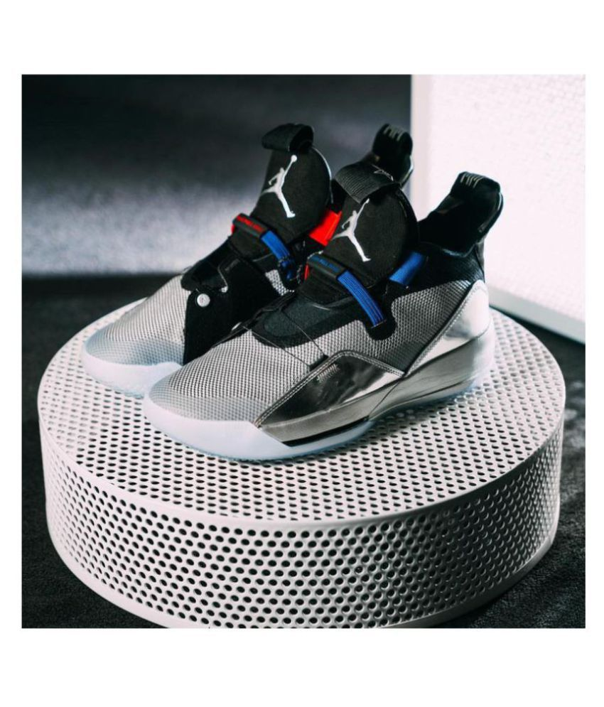 new concept many fashionable where can i buy Nike JORDAN 33 ALL STAR Silver Basketball Shoes