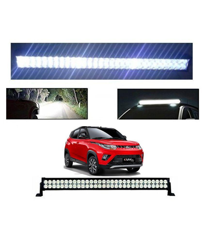 Trigcars Mahindra KUV 100 Bar Light Fog Light 22Inch 120Watt