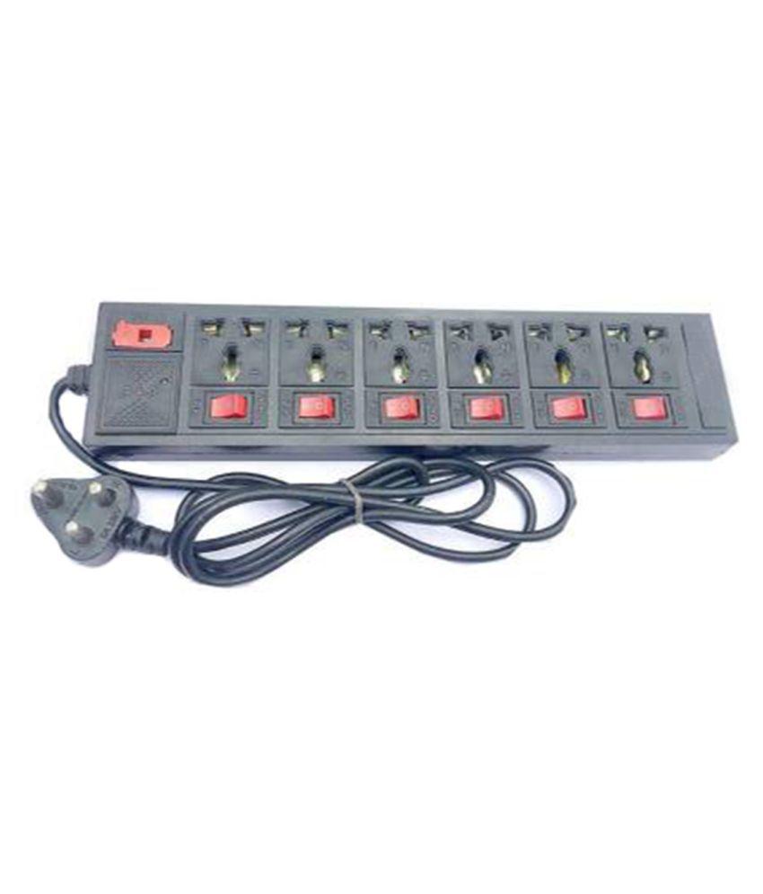 X EON IXE 116 6PNT 6 socket Surge Protector