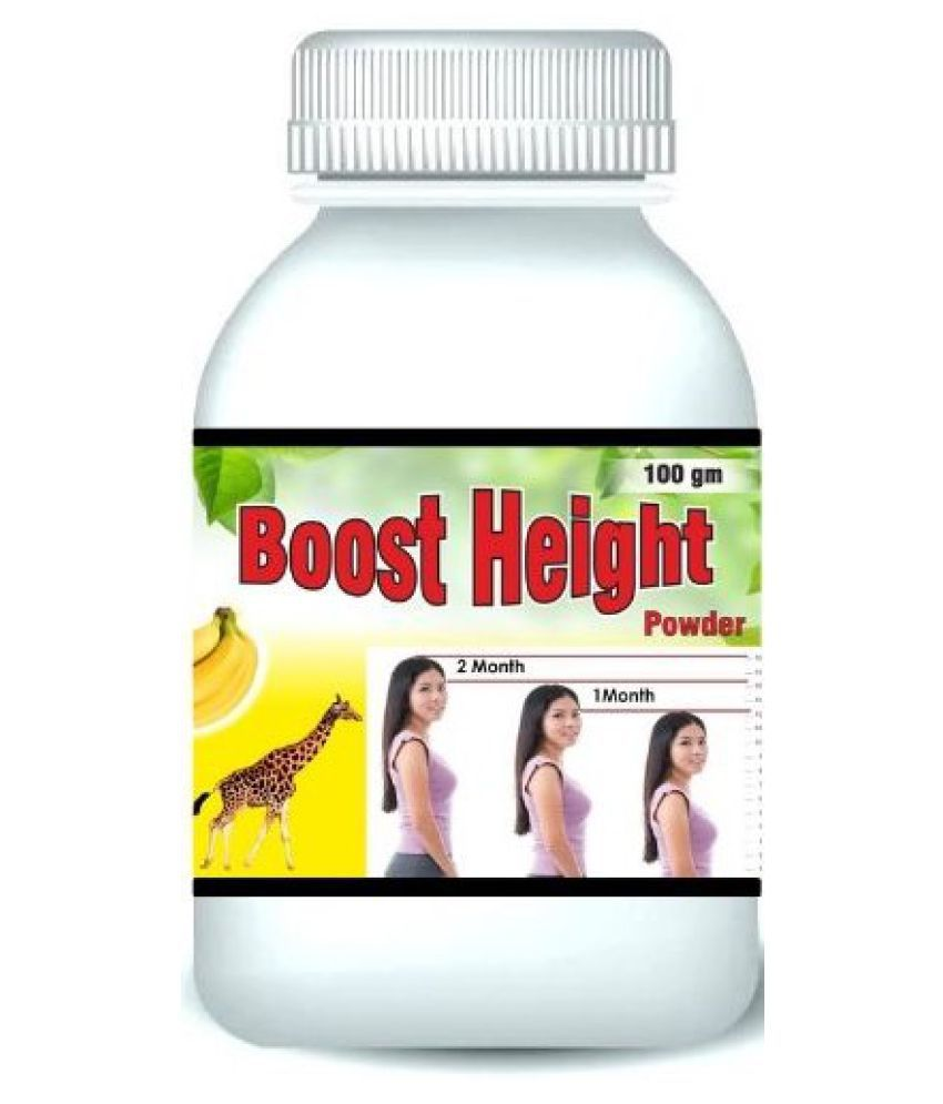 Hind Healthcare Boost Height Increase Banana Flavor Powder 100 gm Pack Of 1