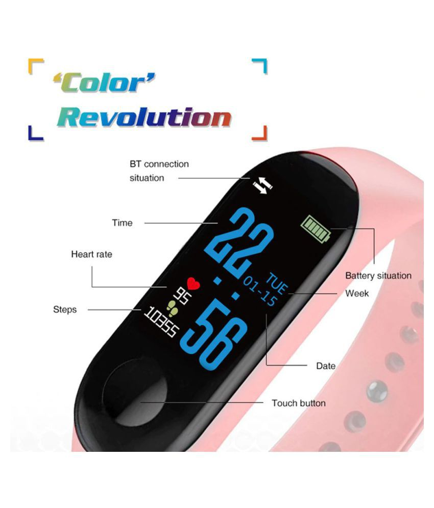 fashion Smart Band Heart Rate Monitor Fitness Tracker Sports Bracelet for Android IOS smart watch phone men