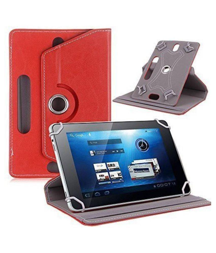 Samsung Galaxy Tab 4 10.1 T531 Flip Cover By Cutesy Red