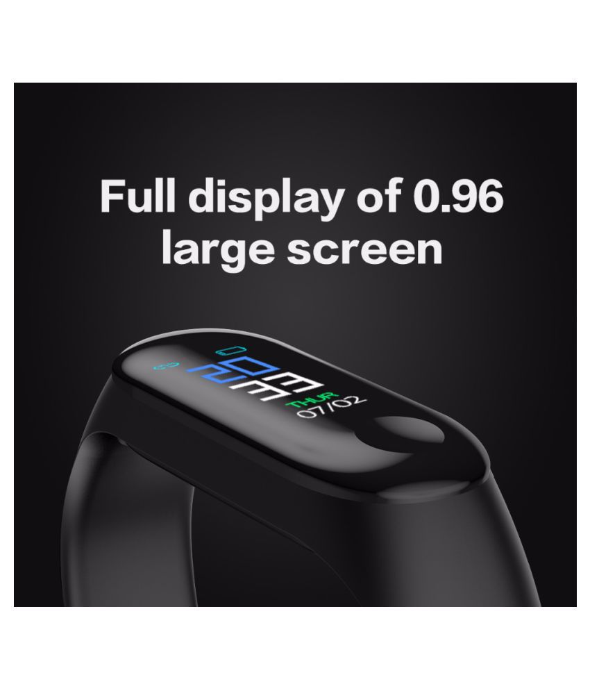 Smart Sports Band Color Screen Smart Watch Heart Rate and Blood Pressure Monitor Smart Bracelet Men Smartwatch