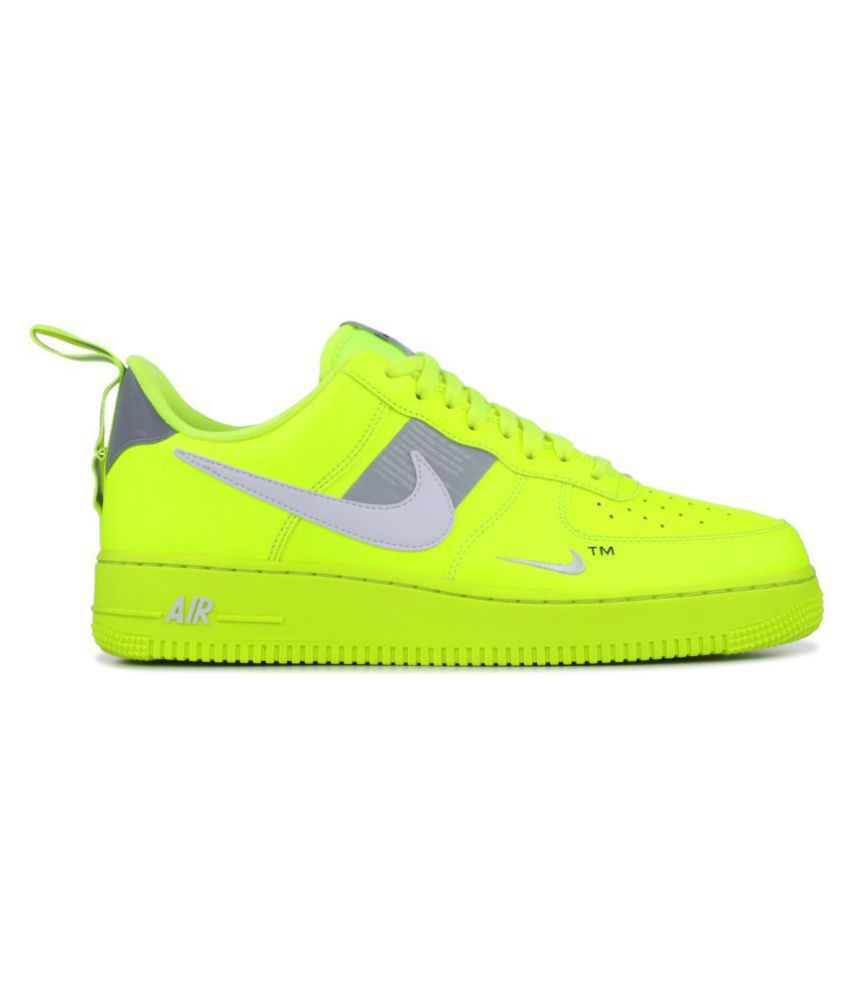 Nike Air force utility Green Running Shoes