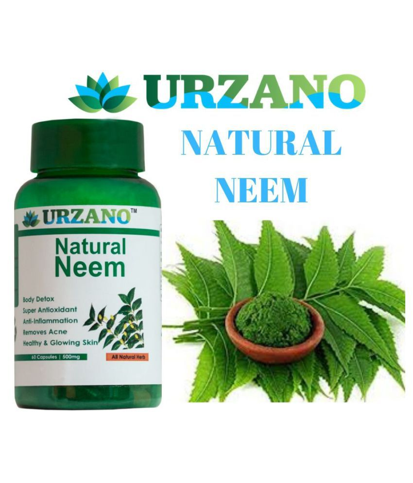 URZANO NEURAL NEEM EXTRACT  for skin care Capsule 60 no.s Pack Of 1